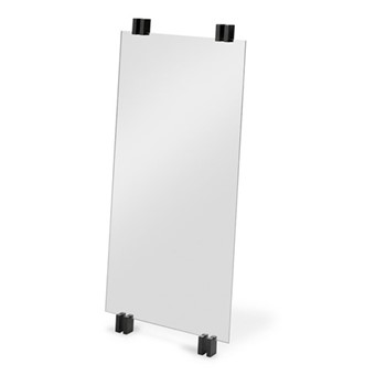 Cutter Mirror, W50 x D5.7 x H110cm, black