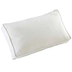 Luxury Deep sided pillow, L37 x W63 x H10cm - Soft/Medium, white