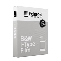 Instant black and white film compatible with one step 2