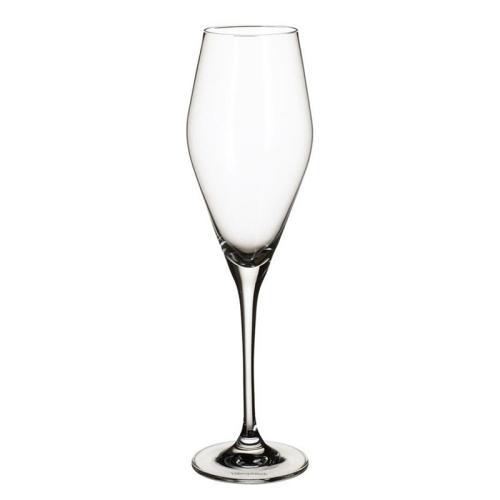 La Divina Set of 4 champagne flutes, 260ml, Crystal Glass