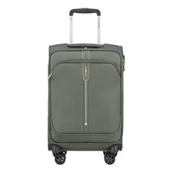 Popsoda Spinner suitcase, 55 x 35 x 20cm, grey