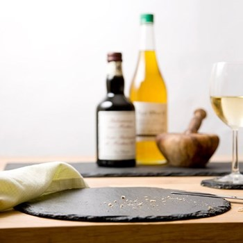 Set of 2 round placemats, 26cm