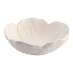 Cabbage Set of 4 bowls, 12 x 4.5cm, beige