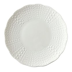 Corail Set of 3 charger plates, 31.5cm, white