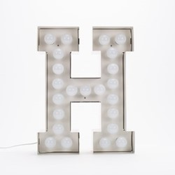 Vegaz H Letter light, H60cm