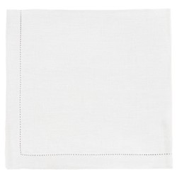 Florence Pair of placemats, 37 x 50cm, white