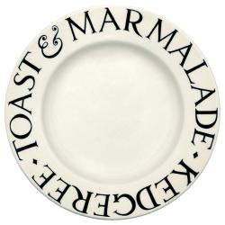Black Toast Dessert plate, 21.5cm