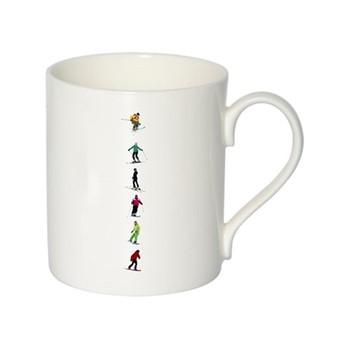 Alphabet - I Mug, H9.5 x W10.5 x D8.5cm - 35cl, multi