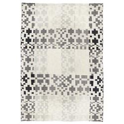 Pennan Throw, L190 x W145cm, black/white