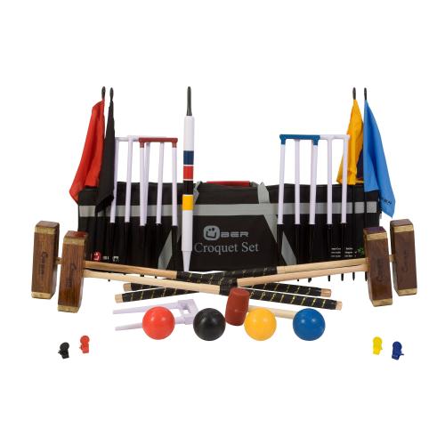 Pro Pro croquet set, With Hardwood Mallets