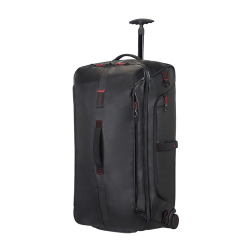 Paradiver light Duffle bag with wheels, cabin size, 55cm, Black