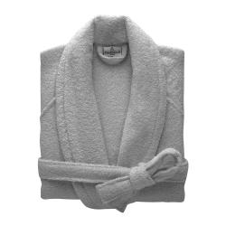 Etoile Bath robe, large, Platine
