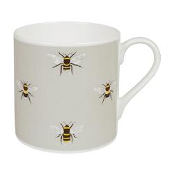 Bees Coloured Mug, 425ml