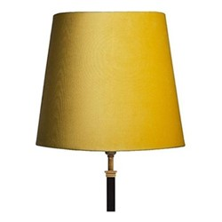 Tall tapered lampshade, 30cm, buttercup
