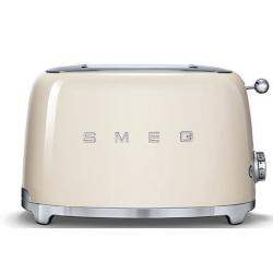 50's Retro 2 slice toaster, Cream