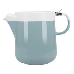 Barcelona Teapot, 1.2 litre, retro blue