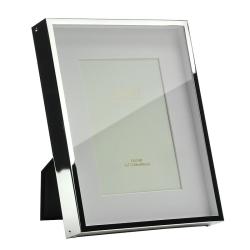 "Box Photograph frame, 5 x 7"", silver plate"