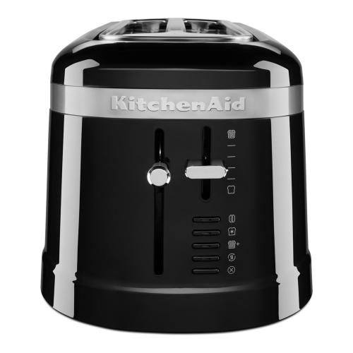 Design 4-slice long slot toaster, Onyx Black