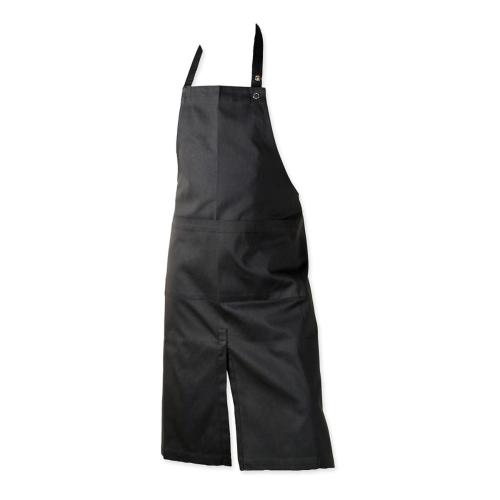 Twill Apron with pocket, 80 x 95cm, Black
