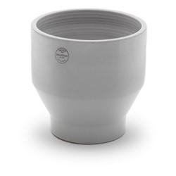 Edge Outdoor pot, Dia35 x H34cm, light grey