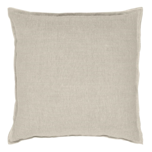 Brero Lino Cushion, H45 x W45cm, Natural