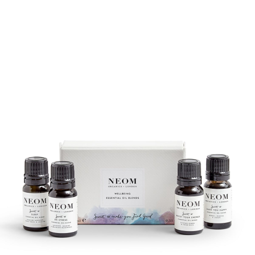 Set of 4 essential oils, White
