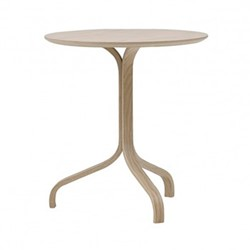 Lamino Side table, Dia46 x H49cm, beech