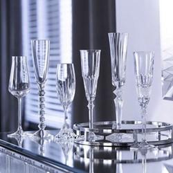 Bubble Box Set of 6 champagne flutes