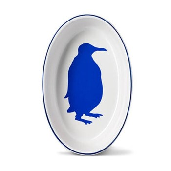 Penguin Oval baking dish, 24cm