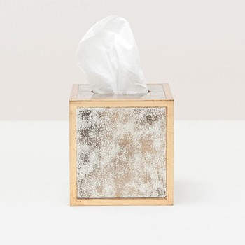 Atwater Tissue box, H15cm, gold