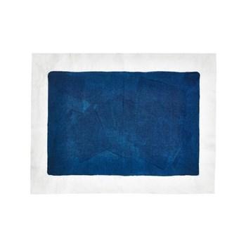 Full Field Linen placemat, midnight blue