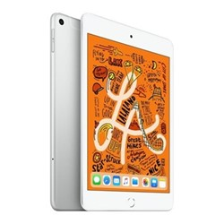 "2019 iPad mini 5, Wi-Fi + Cellular, 64GB, 7.9"", silver"