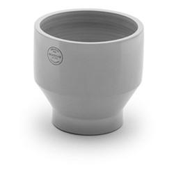 Edge Outdoor pot, Dia25 x H24cm, light grey