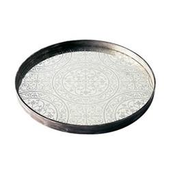 Moroccan Mirror tray, D61 x 4.5cm