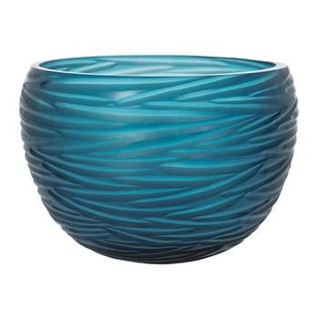 Rope Effect Bowl, W24 x L24 x H25cm, midnight blue