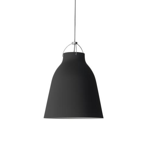 Caravaggio-P1 Pendant lamp, H20.5 x Dia16.5cm, Matt Black