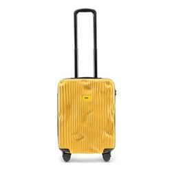 Stripe Cabin suitcase, H55 x W40 x D20cm, yellow