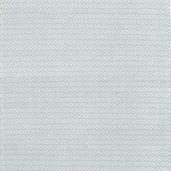 Herringbone Polypropylene indoor/outdoor rug, W183 x L274cm, light blue/ivory