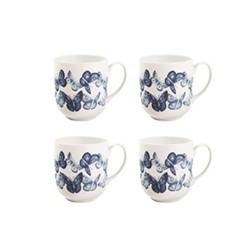Set of 4 mugs W9 x H10cm