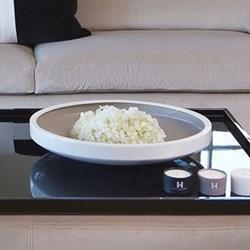 Ottoman tray, black