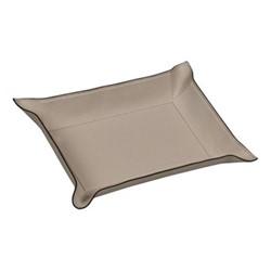 Jack Square valet tray, 28cm, grey