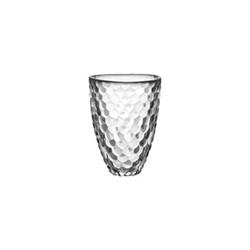 Raspberry Vase, H16 x W12.4cm, clear