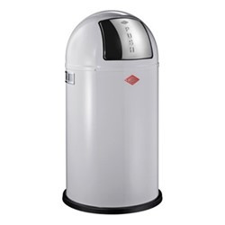 Pushboy Bin, H76 x W40cm - 50L, cool grey