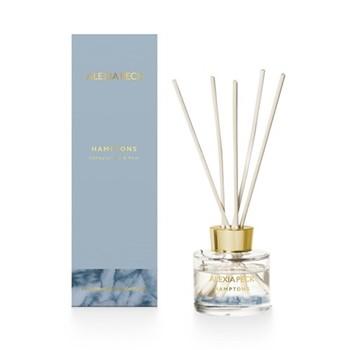 Hamptons - Honeysuckle & Pear Fragranced diffuser, 19cm, sky blue