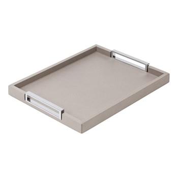 Victor Rectangular tray, 34.5 x 44.5cm, grey