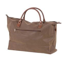 Travel bag, H45 x W21 x D62cm, brown
