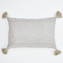 Kas Cushion, L60 x W40cm, chinchilla