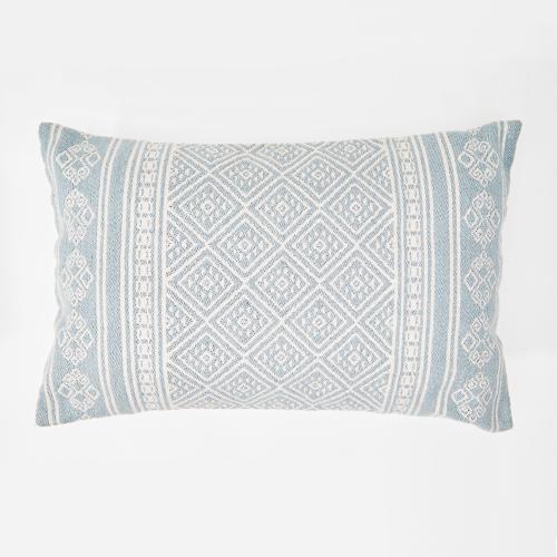 Kalkan Cushion, L60 x W40cm, Cornflower