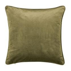 Escala Cushion, L45 x W45 x H10cm, olive