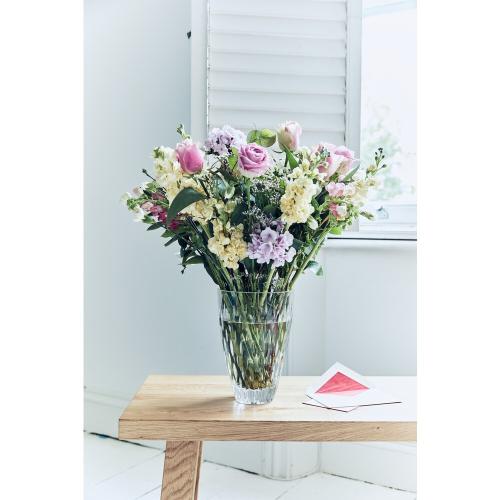 Enis Vase, 25.4x18.6x18.6, Crystal